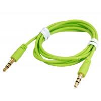 1 м 3,5 мм разъем аудио Матовая удлинитель (зеленый)