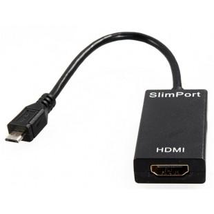 SlimPort к HDMI видео адаптер (черный)