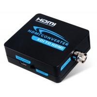 AY37 SDI / 3G для HDMI 1080P HD пластической конвертер (черный)