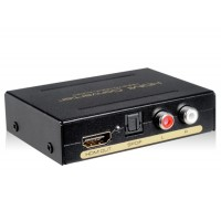 AY60 HDMI к HDMI + Audio 1080P HD Converter (черный)
