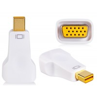 Дисплей для VGA HD адаптер конвертер (белый)