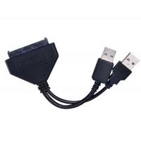 US03B USB3.0 для SATA Кабель-адаптер (черный)