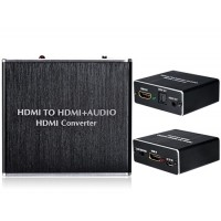 HDMI на HDMI + Audio HD Converter (черный)