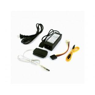 USB 2.0 для SATA IDE кабель (черный)