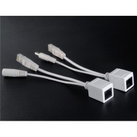 PoE Adapter Injector & Splitter Kit (White)