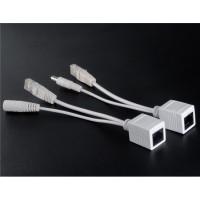 PoE Adapter Injector & Splitter Kit (White)