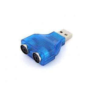 USB адаптер-конвертер для PS2 клавиатуры и мыши
