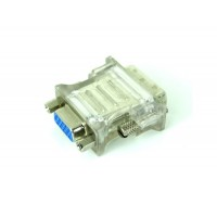 DVI к VGA адаптер конвертер (белый)
