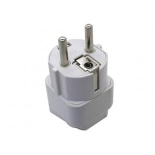 Новый Universal Plug гнездо адаптера конвертер Европейский стандарт (белый)