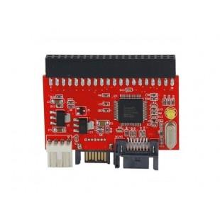 IDE к SATA или SATA к IDE адаптер (красный)