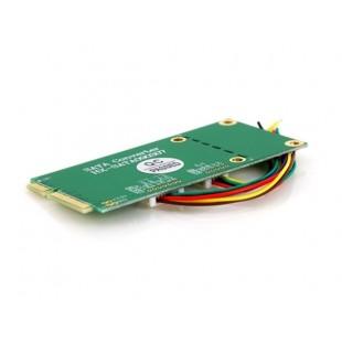 Mini PCI-E PCI Express для SATA SSD + USB DIY адаптер (зеленый)