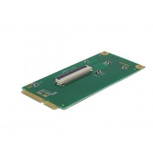 CE 1.8 ZIF LIF для Mini PCI-E PCIe адаптер (зеленый)