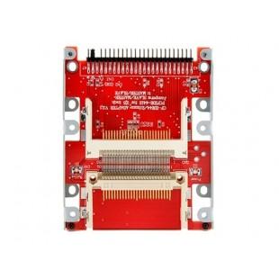 2 CF до 44 Pin IDE HDD жесткий диск адаптер Drive (красный)