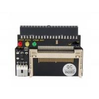 Черный двойной CF Compact Flash до 40 Pin IDE адаптер карты (черный)