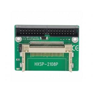 Зеленый двойной CF Compact Flash для IDE адаптер / конвертер (зеленый)
