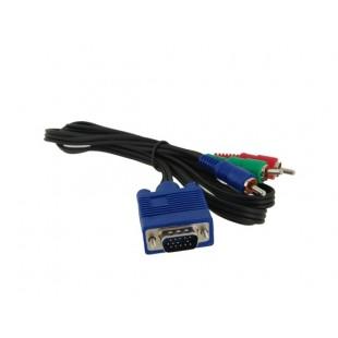 1,5 VGA в RCA видео ТВ кабель конвертер / адаптер