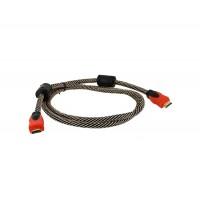 1,5 м Высокоскоростная полным разрешением 1080p HDMI к HDMI Цифровой аудио / видео кабель Версия 1.3 (черный + желтый)