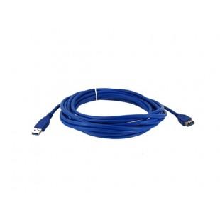 5м USB 3.0 мужчина к Женский удлинитель данных (синий)