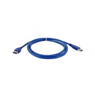 1,5 м USB 3.0 Type A мужчин типа А, розеточный (AM / AF) Данные кабель-удлинитель для ПК (синий)