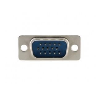 15HD мужчина VGA D-Sub для пайки Разъем (серебро)