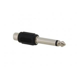6,3 мм Мужской Стерео А.В. Женский конвертер Plug (черный)