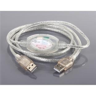 Сеть USB2.0 Кабель связи (серебро)