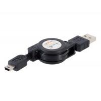 Strecher кабель USB микро 0,8 м (черный)