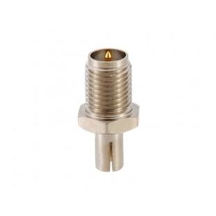 RP-SMA разъем для CRC9 штыревое (серебро)