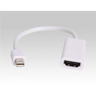 Mini DisplayPort к HDMI-кабель (белый)
