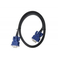 1.5м VGA плоский кабель (черный)
