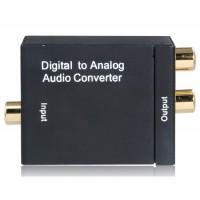 Оптический Toslink цифро-аналоговый Audio Converter