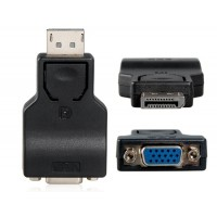 DisplayPort мужчина к VGA Женский адаптер (черный)