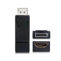 Мини Портативный DisplayPort мужчина к HDMI Женский адаптер (черный)