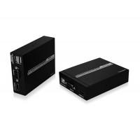 HDMI + KVM 50M Стандартный HLHC050B Одноместный Чистая кабеля Extender (черный)