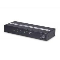 HDMI 1.3 Splitter с 1 входом и 4 выхода (черный)