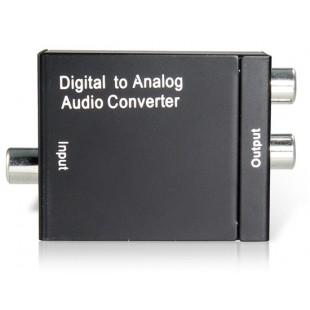 Цифро-аналоговый аудио конвертер (черный)