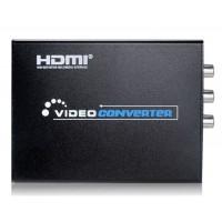 NEWKENG NK-10 HDMI для AV / Svideo Конвертор США Plug (черный)