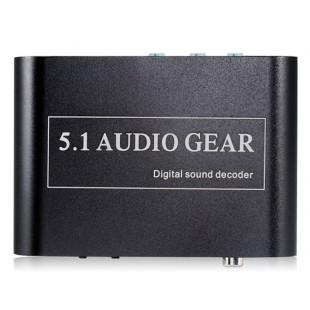 NEWKENG 51A DTS Digital Audio Decoder Plug США (черный)