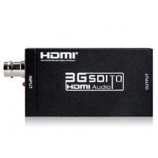 NEWKENG S008 Mini 3G SDI для HDMI конвертер (черный)