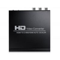 NEWKENG 10II HDMI для CVBS / HDMI конвертер (черный)