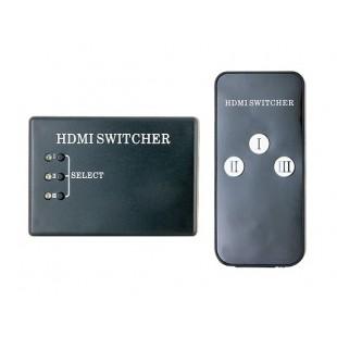 3 канала HDMI High Definition Сплит-экран устройства с Инфракрасный пульт дистанционного управления (черный)