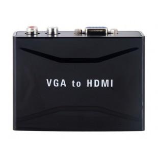 YZ-1803 1920 x 1200 VGA К HDMI конвертер (черный)