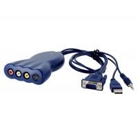ПК на TV Converter (синий)
