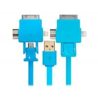 1,0 м X USB-701 зарядки & Синхронизация кабель (синий)