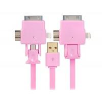 1,0 м X USB-701 зарядки & Синхронизация кабель (розовый)