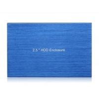 "BS-U25YA 2.5 ""USB2.0 к SATA HDD корпус Case (синий)"