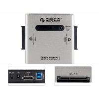 "Dual 2.5"", 3.5"", 5.25""  SATA Hard Drives Dock"