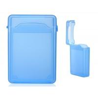 """3.5 """"Пластик жесткий диск защитный чехол (синий)"""