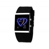 SKMEI 0952 5ATM водонепроницаемый цифровой светодиодный дисплей часы   (черный)