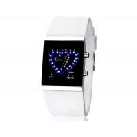 SKMEI 0952 5ATM водонепроницаемый цифровой светодиодный дисплей часы   (белый)